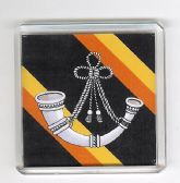 OXFORDSHIRE AND BUCKINGHAMSHIRE ( OX'S & BUCKS )LIGHT INFANTRY FRIDGE MAGNET